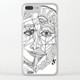 A Stream of Connection Clear iPhone Case
