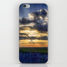 Sunset in the Badlands iPhone & iPod Skin