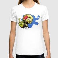 rock n roll T-shirts featuring Rock n' Roll Skull by Vida Graffiti