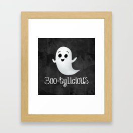 Boo-tylicious Framed Art Print