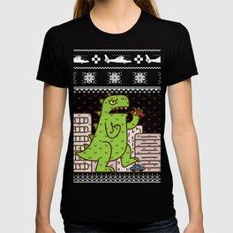Godzilla Ugly Christmas T-shirt