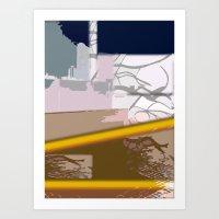 skyline Art Prints featuring Skyline by Jose Luis
