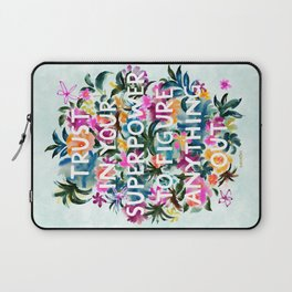 TRUST IN YOUR SUPERPOWER Quote Laptop Sleeve