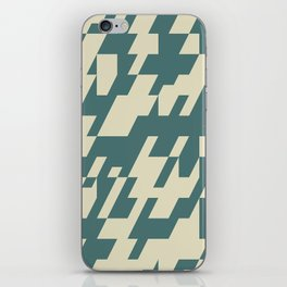 Diagonal Mash Up 1 iPhone Skin