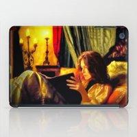 literature iPad Cases featuring Candlelit Literature by DigitalAndPhoto