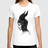 maleficent T-shirts featuring Maleficent  by Denda Reloaded
