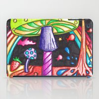 psychedelic iPad Cases featuring Psychedelic by kellyzebra