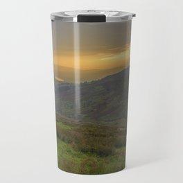 Cumbrian Sunset. Travel Mug