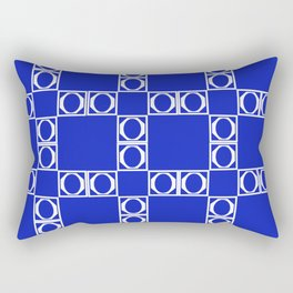 angle blue & yellow Rectangular Pillow