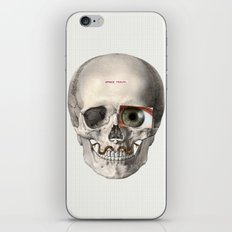Space travel in your mind iPhone & iPod Skin