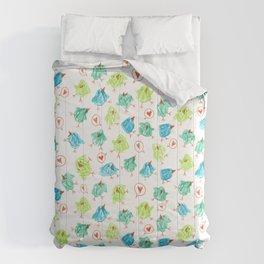 Scribble Birds Comforters