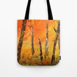 in fire Tote Bag