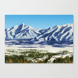 The Wasatch Front Canvas Print