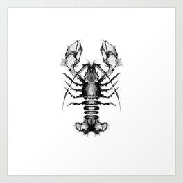 Lobster and Shrimps Art Print