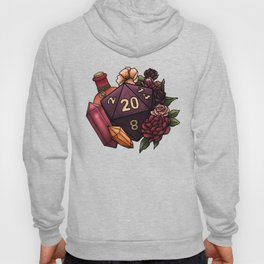 Sorcerer Class D20 - Tabletop Gaming Dice Hoody