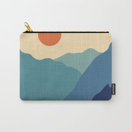 Mountains & River II Carry-All Pouch
