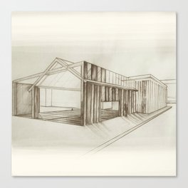 Urban Barn Canvas Print