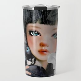 Sphynx Among Orchids Travel Mug