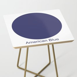 American Blue Side Table
