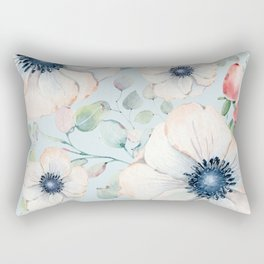 Summer Flowers #society6 #buyart Rectangular Pillow