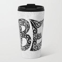 Swirly Obey Travel Mug