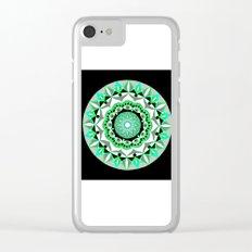 My Mandhala   Secret Geometry   Energy Symbols Clear iPhone Case