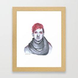 Blurryface : Josh Dun Framed Art Print