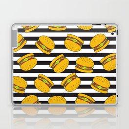 Burger Stripes By Everett Co Laptop & iPad Skin
