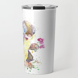 Thumper With Flowers Travel Mug