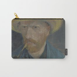 Self-Portrait with Straw Hat and Pipe Carry-All Pouch