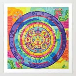 calendario Art Print