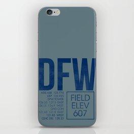 DFW iPhone Skin