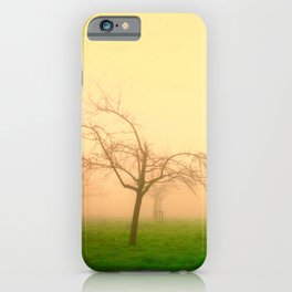 Morning Fog  - JUSTART © iPhone Case