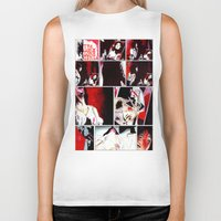 gore Biker Tanks featuring The Gore Gore Girls by Zombie Rust