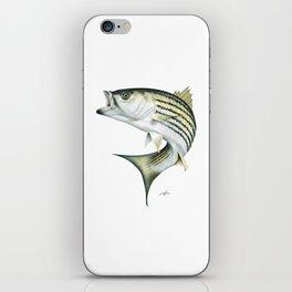 Striped Bass iPhone Skin