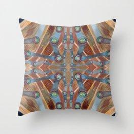 Night Portal Dream Pattern Throw Pillow