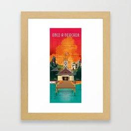 Once a Beacher (Tall) Framed Art Print