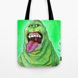 Slimer (Ghostbusters) Tote Bag