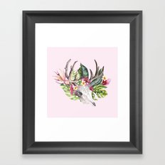 My Bohemian Tropical Memories Framed Art Print