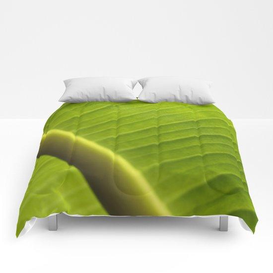 Banana Leaf III Comforters