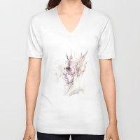 thranduil V-neck T-shirts featuring Thranduil by Caeruls