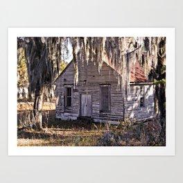 Old Church House Art Print