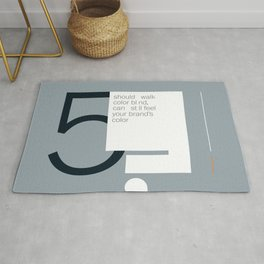 brand's color Rug