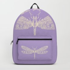 Lavender Dragonfly Backpack