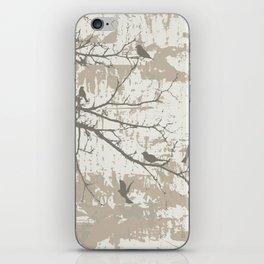 Dark birds iPhone Skin