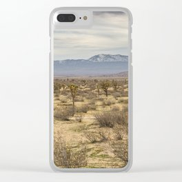 Saddleback Butte State Park Clear iPhone Case