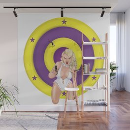 Knifethrower's Wife Wall Mural