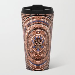 Aztec Tardis doctor who Sign logo Pendant Medallion iPhone 4 4s 5 5c 6, pillow case, mugs and tshirt Travel Mug