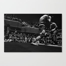 WHEN THE TITANS FALL, WE WANT TO SAY WE WERE THERE Canvas Print