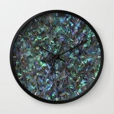Abalone Shell   Paua Shell   Natural Wall Clock